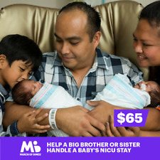 $65 Charitable Donation For: Help a Big Brother or Sister