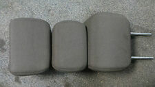 Ford focus titanium rear dark grey / black headrest set 08-10 please see descrip