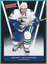 2010-11 Upper Deck Victory Black Parallel card #291 of Manny Malhotra