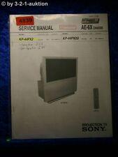 Sony Service Manual KP 44PX2 /44PX2U Projection TV (#4839)
