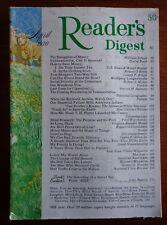 READER'S DIGEST magazine A 1970 American INDIAN-JUDAS-Israel-VIETNAM-Sid Bennett