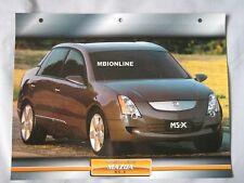 Mazda MS-X Deam Cars Card