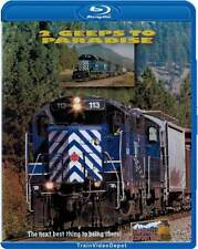 2 Geeps to Paradise BLU-RAY NEW Highball Montana Rail Link MRL BNSF Missoula