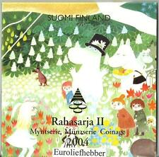 Finland / Suomi    BU Euro Set    2004     Rahasarja II   OP VOORRAAD / IN STOCK