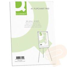 A1 Flip Chart Plain PAPER PAD punzonati PER FLIPCHART easels 40 fogli kf37002