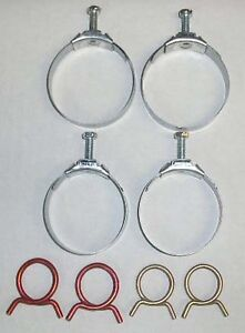 1962-1967 Chevy Nova or Chevy II Radiator & Heater Hose Clamp Set (Small Block)