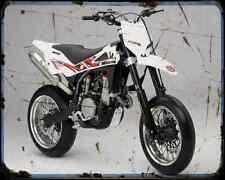 Husqvarna Sm 450Rr A4 Photo Print Motorbike Vintage Aged