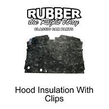 1988 - 1998 Chevy & GMC Truck Blazer Jimmy Hood Insulation Kit With Clips
