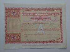 "share certificate - 1938 Barclays Bank Ltd - ""A"" shares  #53319"