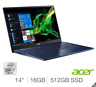 "Acer Swift 5, SF514-54T, Core i7-1065G7, 16GB RAM, 512GB SSD, 14"" Laptop"