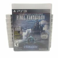 Lot of 10 Final Fantasy XIV Online: The Complete Experience - Sony PlayStation 3