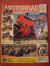 MOTORRAD Zeitschrift 25, Nov.2006 BMW R1200 Harley Honda CB Suzuki Yamaha Ducati