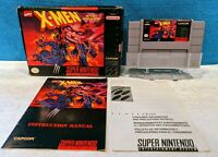 X-Men: Mutant Apocalypse (Super Nintendo Entertainment System, 1994) Working