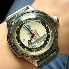 Intercession Nerl Church VOSTOK Amphibian Rare Soviet Watch Collectible SERVICED