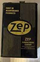 "Vintage Zep Manufacturing ""Zepteen"" 1 Gallon Atlanta Georgia"