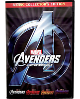 Avengers 1-4 : The Complete 4-Movie Collection Endgame Included (New DVD)