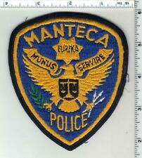 """Ripon S.W.A.T. *NEW* Manteca fire 4/"""" x 4.5/"""" size shoulder police patch CA"""