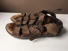 CLARKS ACTIVE AIR men's brown leather comfort sandals size  8 G