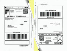 20 HAOMING 8.5 x 5.5 Shipping Labels - LTR - Laser or Ink Jet -  #347