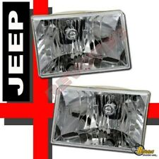 1993-1998 Grand Cherokee OE Style Headlights Head Lamps RH + LH