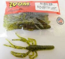 "Zoom Big Critter Craw Bait 5"" - Watermelon Seed, soft plastic lures"