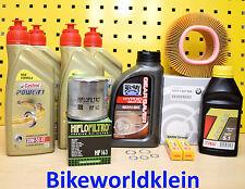 BMW R 850 1100 1150 GS/R/RT/RS Öl Ölfilter Luftfilter Zündkerzen Getriebeöl