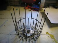 Sunbeam rotisserie broiler vintage Carousel CR model replacement part wire CAGE