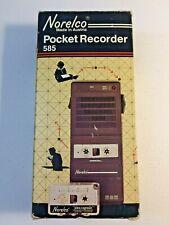 Norelco Pocket Recorder 585