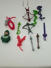 Lot of 1980's He-Man Master of the Universe MOTU weapons