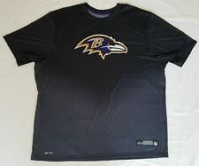 Baltimore Ravens Locker Room/Team Issued Nike Team Apparel Dri-Fit Shirt - 3XL
