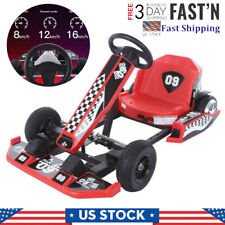 Electric Kart Outdoor Racing Scooter 36V Electric Go-Kart Riding Toy With Lights
