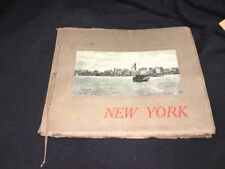 Rare 1800's The Albertype Co. A.Wittemann New York Souvenir Book