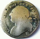 LOUIS XVI .CONSTITUTION .1792 ..12 DENIERS .BB.STRASBOURG.METAL DE CLOCHES
