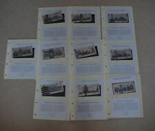 More details for cities of the world silver banknote collection 10 notes