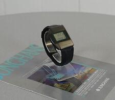 Junghans Mega 1 Herren Luxus Funk Armbanduhr Schwarz 90er Jahre neuwertig RAR