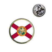 Florida State Flag Lapel Hat Tie Pin Tack