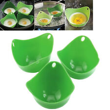 Silicone Egg Kitchen Cookware Poacher Cook Poach Pods Tool Poached Baking Cup