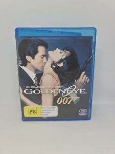 JAMES BOND 007 GOLDENEYE Blu-ray Region B Very Good Condition FREE SHIPPING