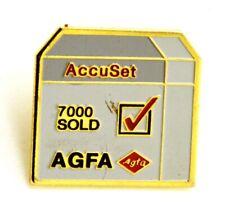 Pin Spilla Fotografia - AGFA AccuSet 7000 Sold, cm 2,5 x 2,4