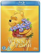 The Many Adventures of Winnie The Pooh - UK Region B Blu Ray - Walt Disney