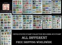 United States Stamp Collection  Including The Stamp Scott #C6, Airmail Ext.