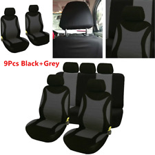 9Pcs/set Car Seat Covers Front+Rear Protector Cushion For Interior Accessories