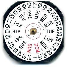 Hattori VX43 Seiko Quartz watch movement (new) repairs replace - MZHATVX43