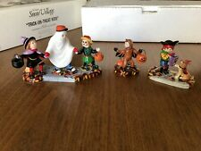 New ListingDepartment 56 Halloween Seasonal Decor Accessories for Village Collections