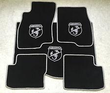 Autoteppich Fußmatten Kofferraum für Fiat Grande Punto Abarth sw silber 5tlg Neu