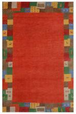 Tapis rouge à motif Bordé pour la maison, de Persan