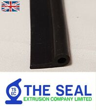 Rubber 'P' profile Trim Seal For doors windows Sold Per Metre
