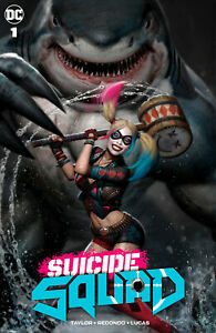 SUICIDE SQUAD #1 (RYAN BROWN EXCLUSIVE VARIANT) ~ DC ~ IN STOCK