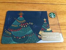 "Canada Series Starbucks ""CHRISTMAS TREE LIGHTS 2015"" Gift Card - New No Value"