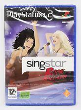 SINGSTAR ROCK BALLADS PLAYSTATION 2 PS2 PLAY STATION PAL ESPAÑA NUEVO PRECINTADO